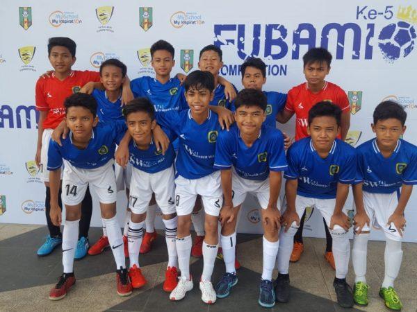 Tim Futsal Spemutu Raih Juara III di Ajang Fubamio
