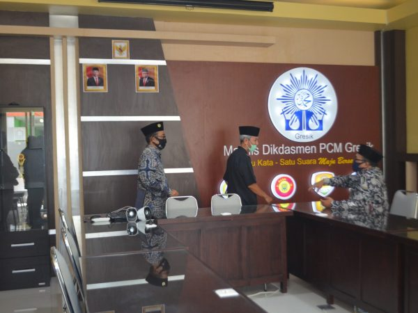Haru Pimpinan Cabang Muhammadiyah Gresik Iringi Peresmian Gedung Baru