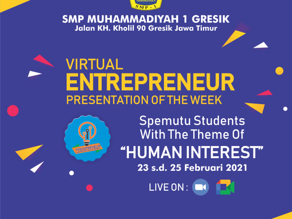 Human Interest, Tema Spemutu di Virtual Entrepreneur Presentation of The Week
