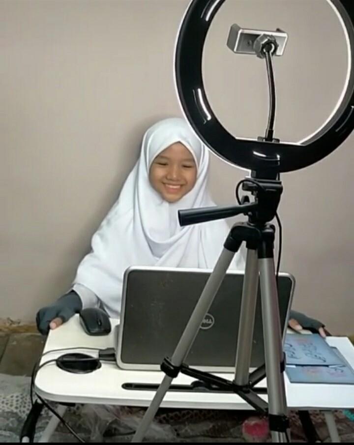 Siswa Ini Ikuti Virtual Entrepreneur Presentation of The Week dari Banjarmasin